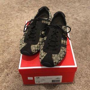 Coach Signature Tennis Shoes